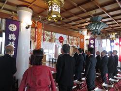 鵜坂神社 建国祭